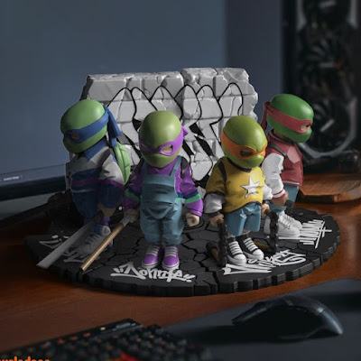 Teenage Mutant Ninja Turtles Vinyl Figures by Danil Yad x Mighty Jaxx