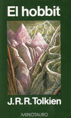 Libro El Hobbit escrito por J.R.R. Tolkien