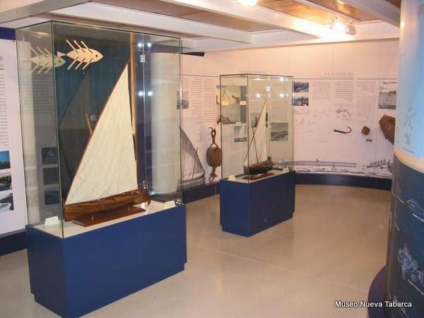 Interior del Museo Nueva Tabarca (Tabarca, Alicante)