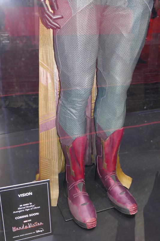 Avengers Vision movie costume legs