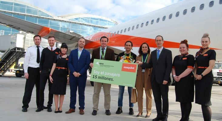 El aeropuerto de Alicante vuelve a batir su récord de pasajeros al superar los 15 millones en 2019