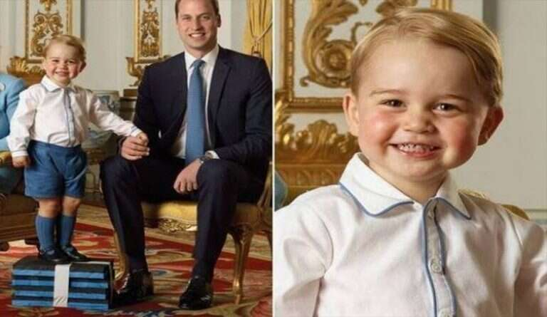 Britain .. Details of thwarting a plot to kill Prince George, the eldest son of Prince William