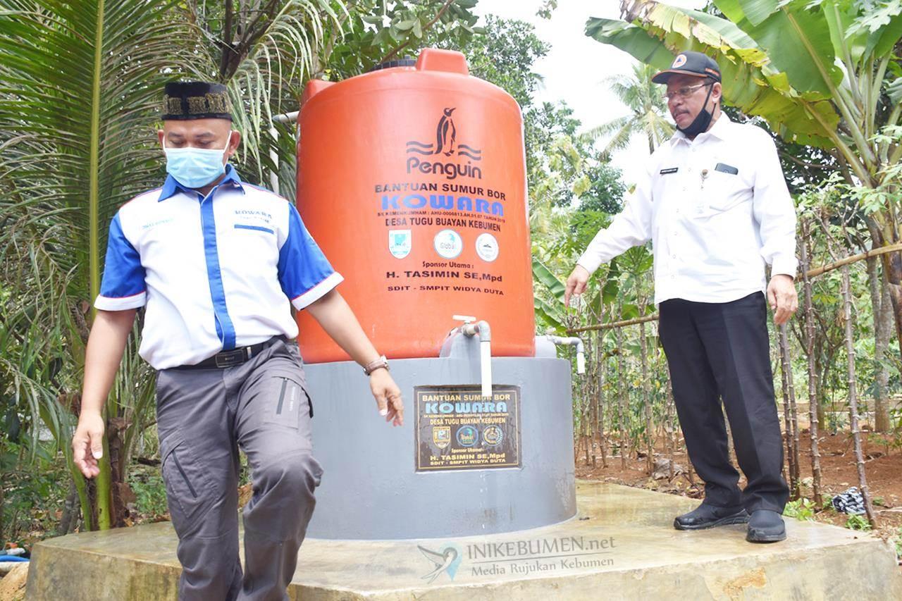 Bantu Krisis Air, Kowara Bangun 9 Sumur Bor di Desa Tugu