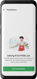 Cara Daftar GO-FOOD Melalui GO-BIZ 81