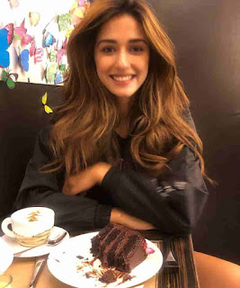 Disha Patani Eating Chocolate
