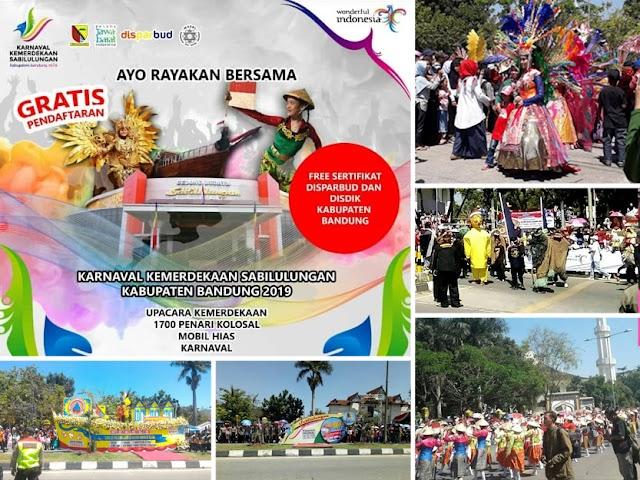 Karnaval Kemerdekaan Sabilulungan 2019, Event Wisata Kabupaten Bandung
