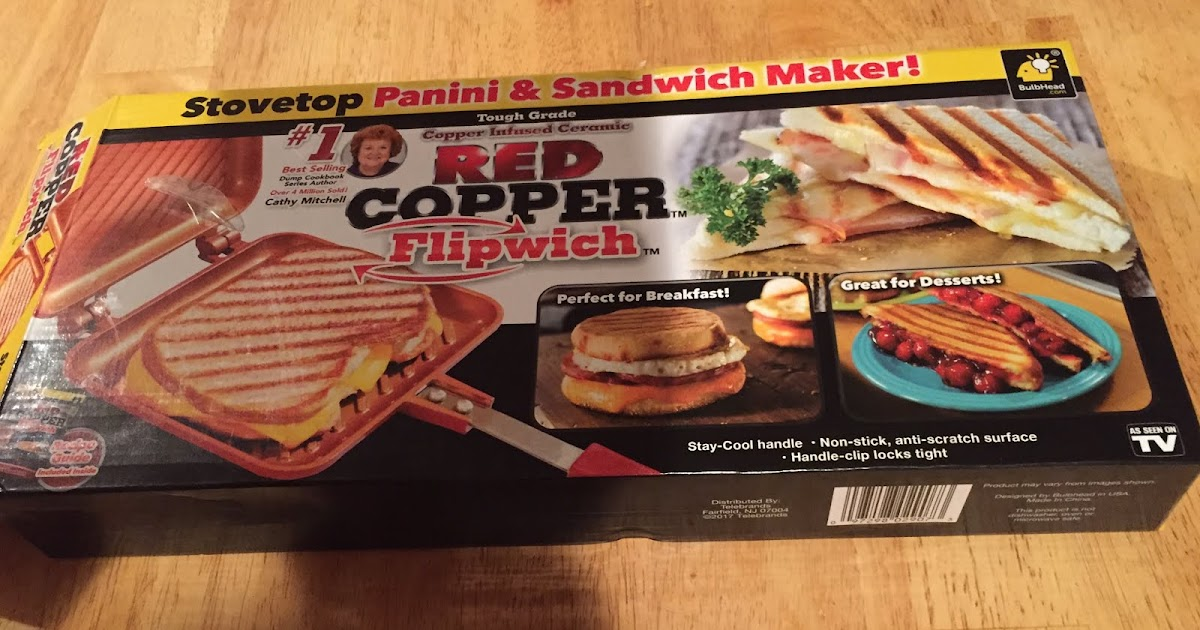 Says Me Says Mom Tips for Tuesday Misc Red Copper Flipwich from #1: Red Copper Flipwich box
