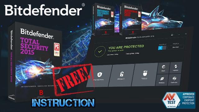 شرح الحصول على سريال برنامج bitdefender security مجانا بطريقة قانونية