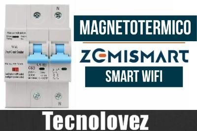 Magnetotermico Smart WiFi Zemismart - Compatibile con App Tuya/Smart Life e Con Gli Assistenti Vocali Amazon Echo e Google Assistant