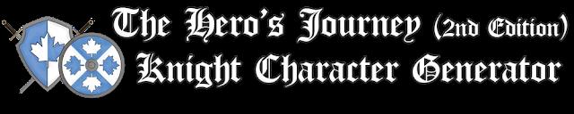 The Hero's Journey Knight Character Generator