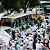 #SuperDamai212: Bus Damri Disediakan Antar Peserta Aksi ke Tempat Masing-Masing #PenjagaNKRI #CiamisEffect