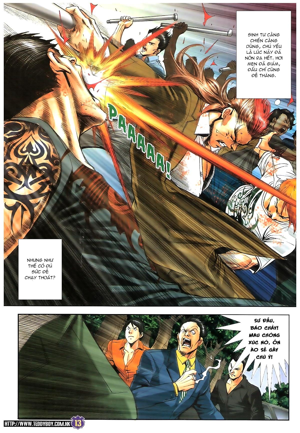 Người Trong Giang Hồ chapter 1647: sinh tư chung kết trang 12