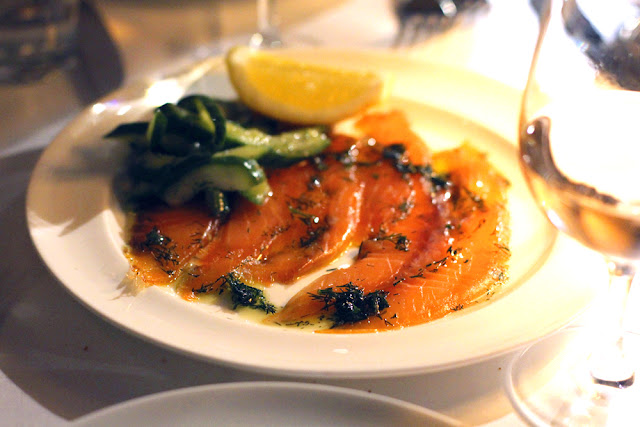 Dinner review at Cafe Monico - London restaurant blog