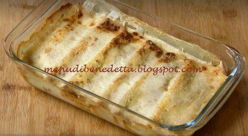 Crespelle funghi e cotto ricetta Benedetta Rossi da Fatto