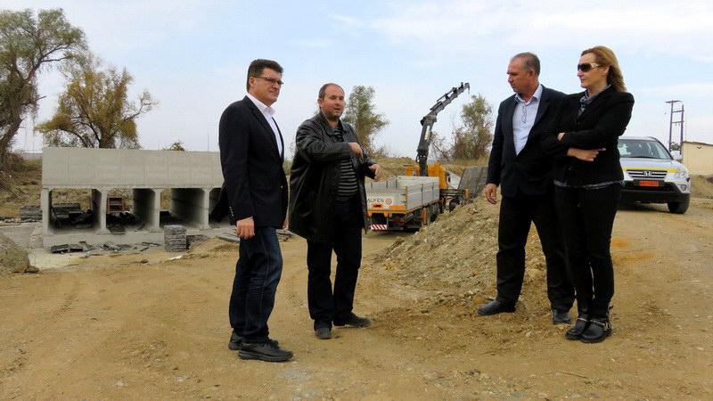 Τα αντιπλημμυρικά έργα στο Νότιο Έβρο επιθεώρησαν Πέτροβιτς και Βενετίδης