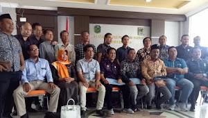 Disaksikan 6 Fraksi, Tiga Dewan Serahkan Rekomendasi Pimpinan DPRD Tebo