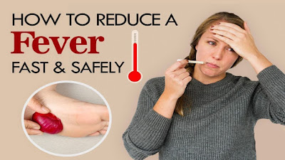 How to do to lower a fever naturally