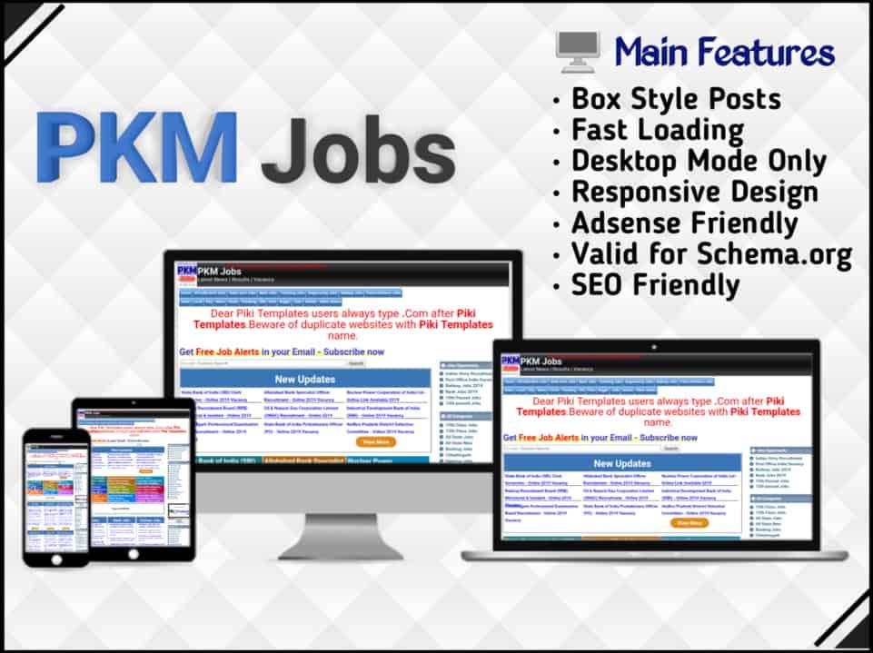 PKM Jobs Template