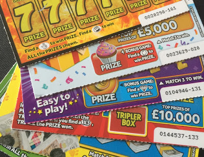 £1 National Lottery scratchcards from 2019
