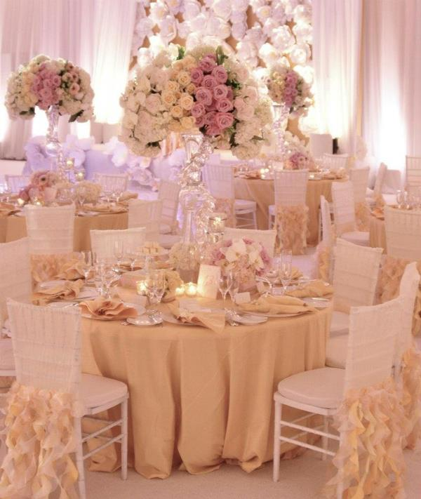 pale blue chair covers director spotlight planning our big day: centerpieces and wedding colors