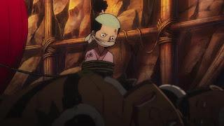 ワンピースアニメ ワノ国編 モモの助 | ONE PIECE EPISODE 984