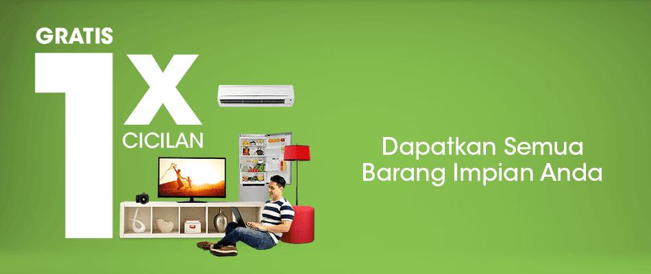Promo Gratis 1x cicilan di seluruh Toko yang bekerjasama dengan Home Credit Indonesia di Kutabumi, Pasarkemis, Regency - Tangerang