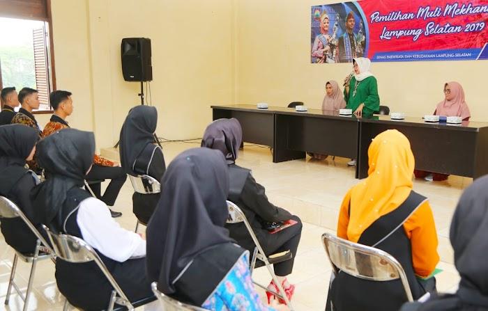118 Peserta Ikuti Seleksi Pemilihan Muli Mekhanai Selampung Selatan Tahun 2019.