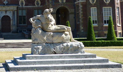 Statue of the River God, Ham House, Richmond