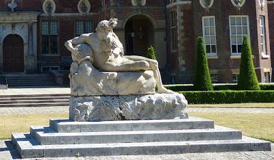 Statue of the River God, Ham House, Richmond