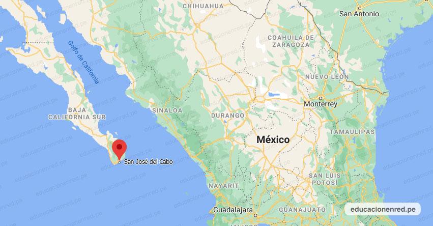 Temblor en México de Magnitud 4.3 (Hoy Sábado 20 Febrero 2021) Sismo - Epicentro - San José del Cabo - Baja California Sur - B.C.S. - SSN - www.ssn.unam.mx