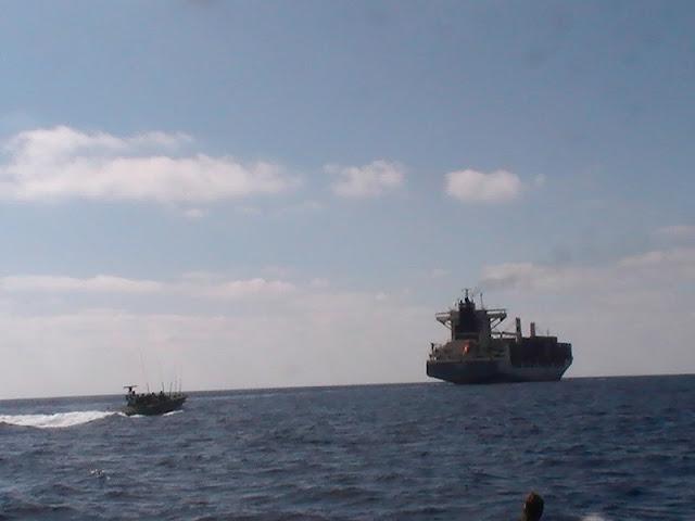 استهداف سفينة اسرائيلية ،في بحر العرب