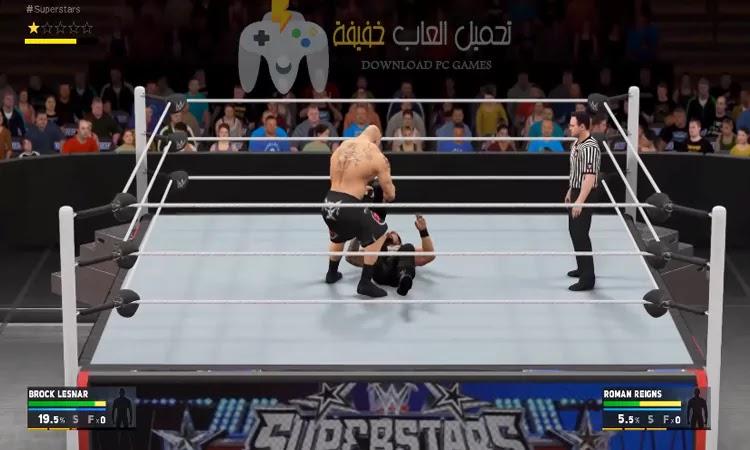 تحميل لعبة WWE 2K17 بحجم صغير