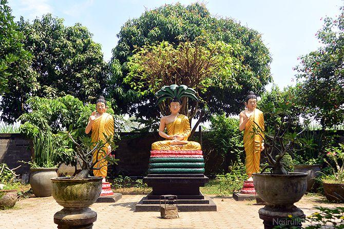 Sudut lain di Maha Vihara Mojopahit