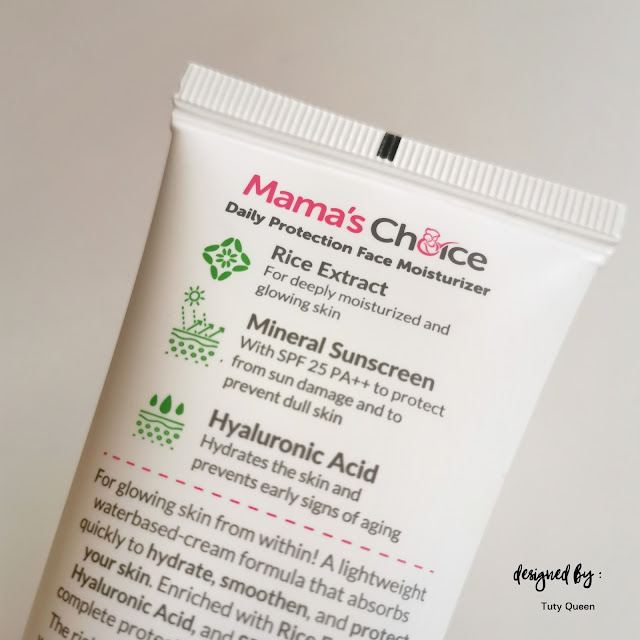 Mama's Choice Daily Protection Face Moisturizer