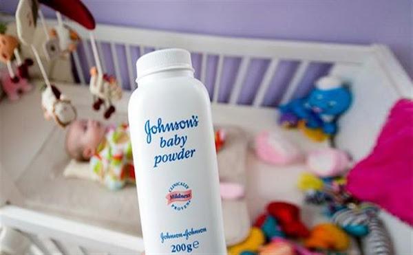 جونسون اضرار التلك talc  johnson baby powder