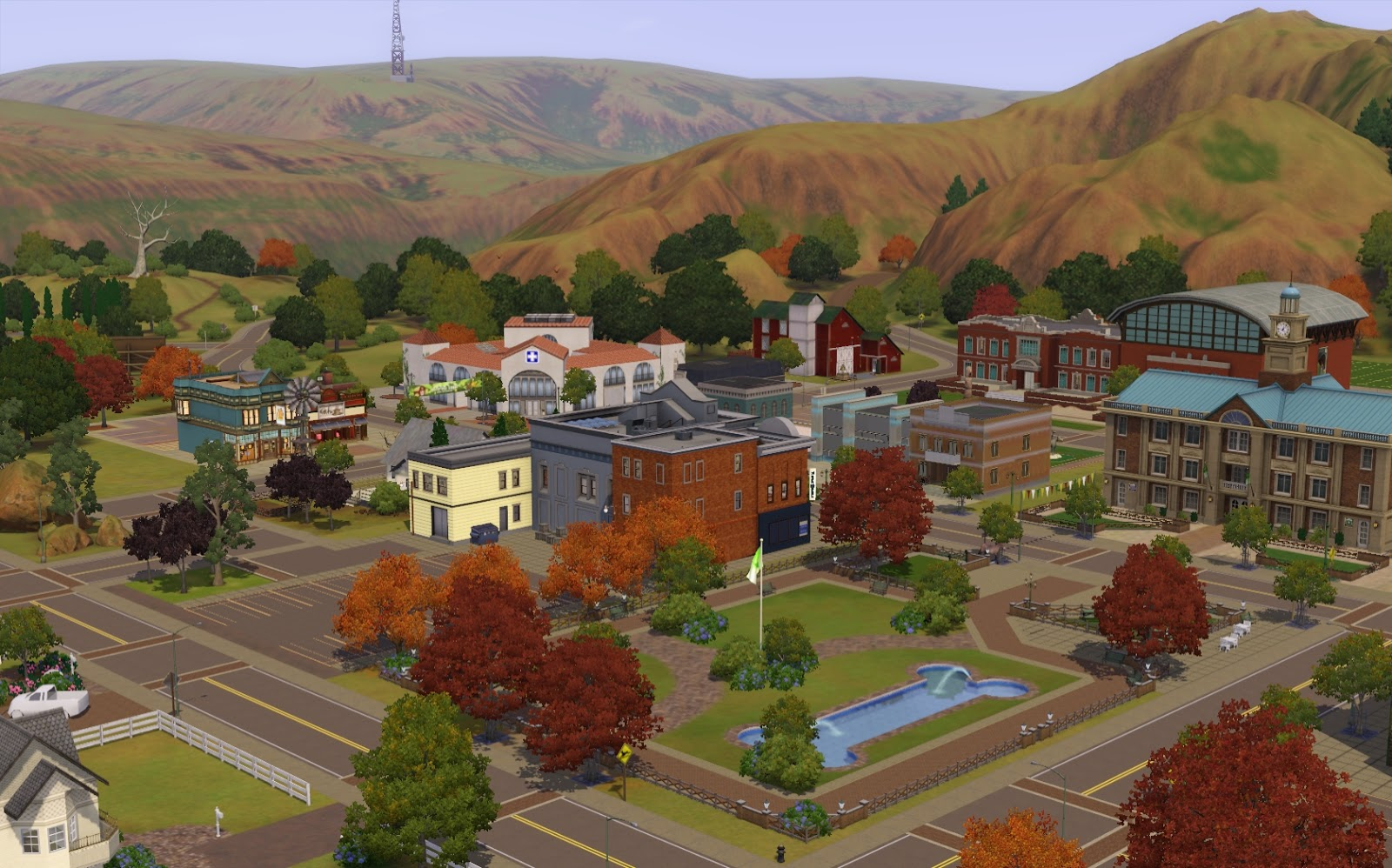 Summer's Little Sims 3 Garden: Appaloosa Plains (The Sims 3