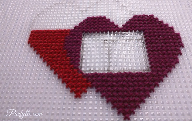reworking cross stitch pattern to incorporate wearable technology