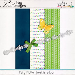 Creative Team for LDrag Designs -   Fairy Flutter (30% off) and Coordinating Freebie