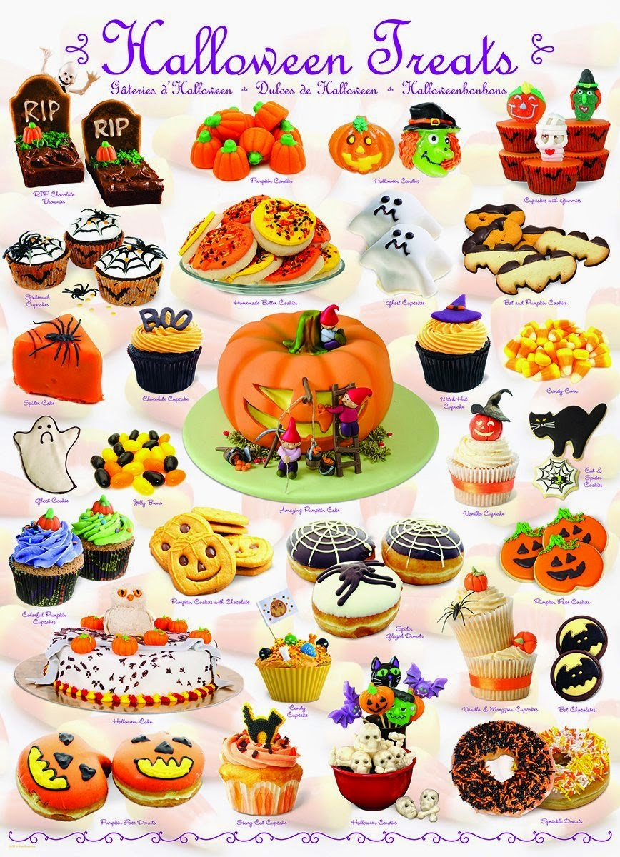Halloween Treats Jigsaw Puzzle