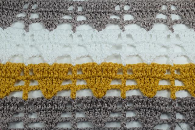 2 - Crochet Imagen Puntada de triangulo calada a crochet y ganchillo por Majovel Crochet
