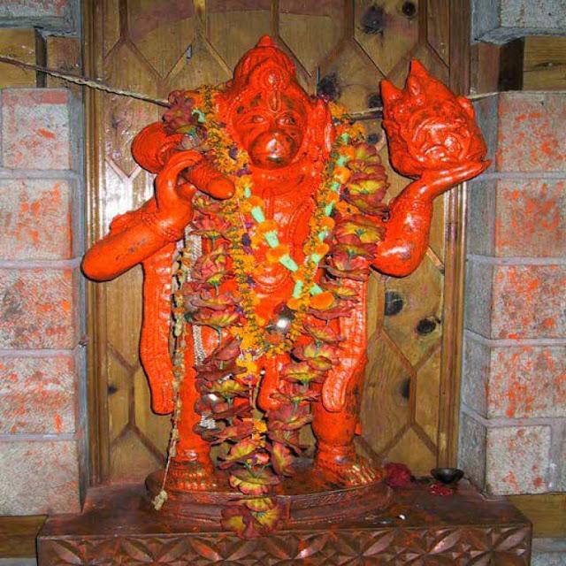 Hanuman Ji Sindoor Idol