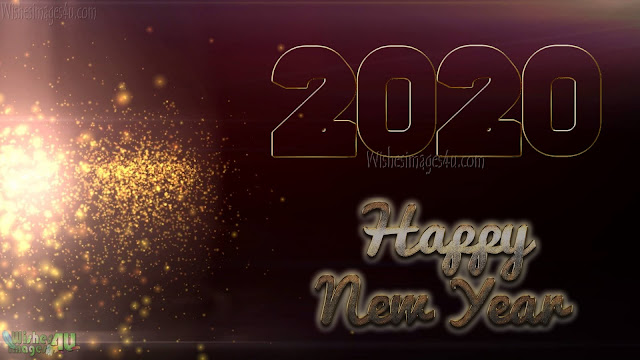 Happy New Year 2020 Full HD Sparkling Photos