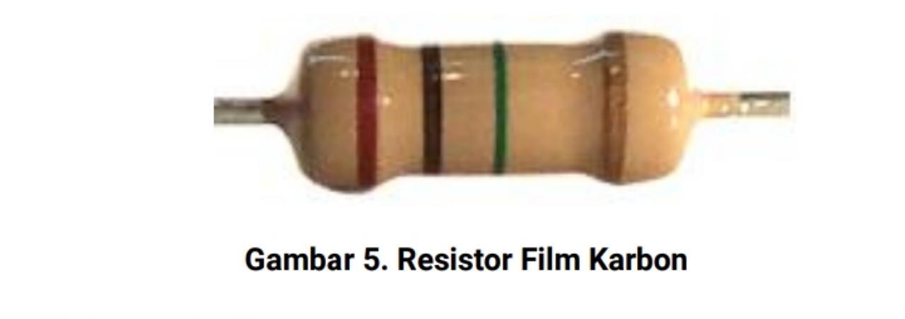 Jenis resistor film karbon