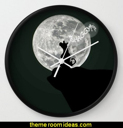 Where's Shaggy? Wall Clock scooby doo wall decor scooby doo bedroom ideas