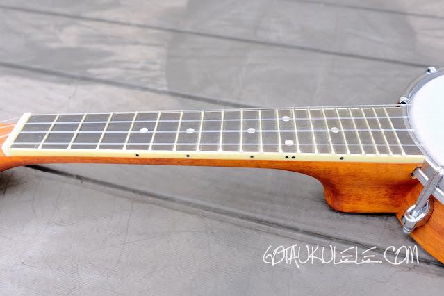 Barnes Mullins UBJ2 Banjo Ukulele neck