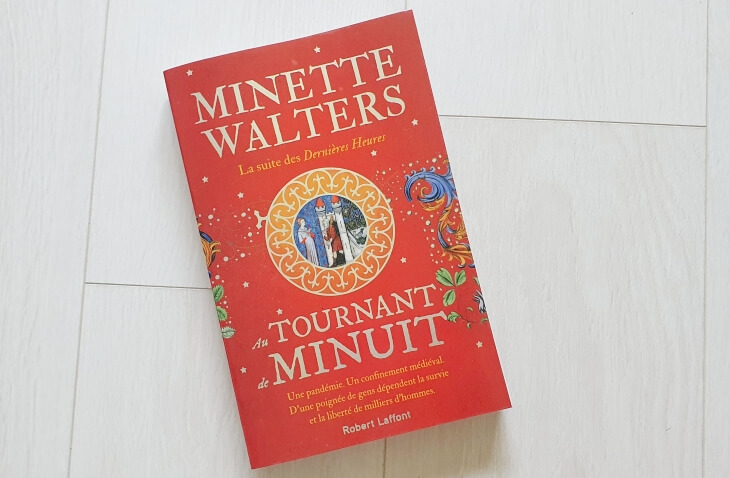 Livre au tournant de minuit de minette walters