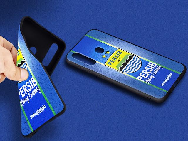 Mockup Blackmatte Case Samsung Galaxy  A20s