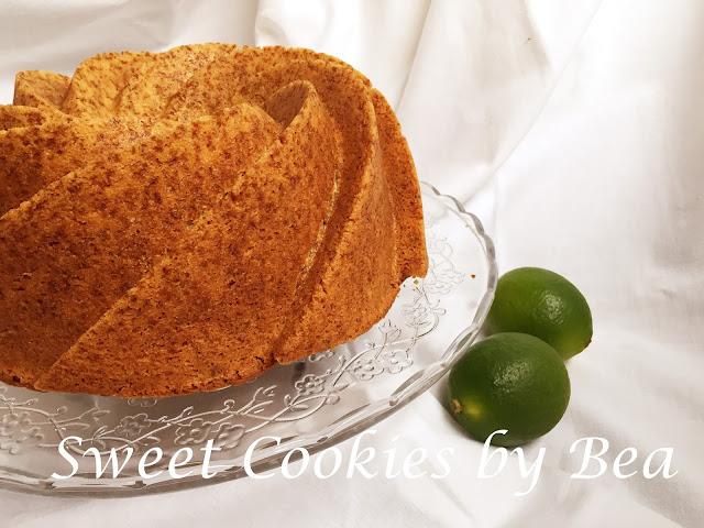 Bundt cake de lima y especias