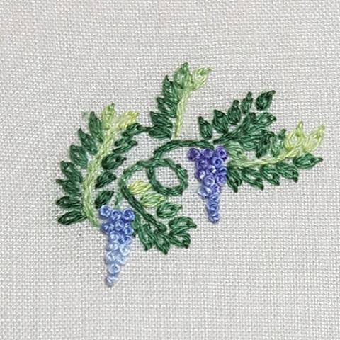 Mẫu thêu hoa nhí đẹp - Hinh 8