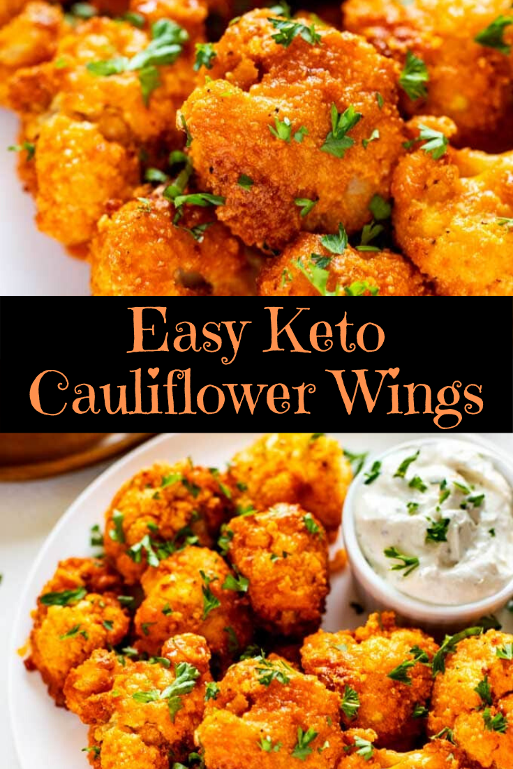 Easy Keto Cauliflower Wings
